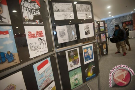 "Sindikat Kartunis Riau gelar pameran ""retrospektrun"""