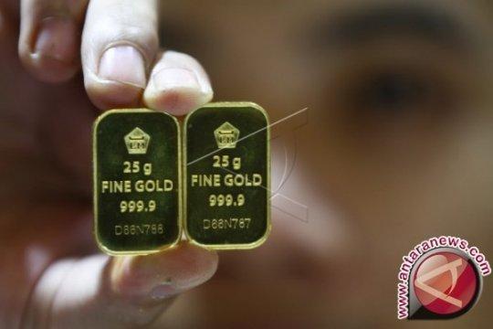 Harga emas turun dipicu lonjakan penjualan ritel Amerika