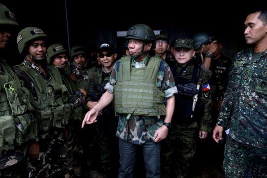 Duterte upayakan perpanjangan darurat militer di Filipina Selatan
