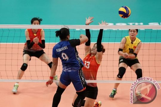Aprilia Manganang berharap tim voli putri lampaui target Asian Games