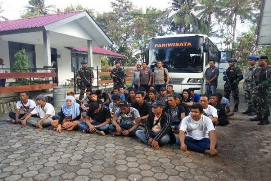 Kronologi WFQR Lantamal IV ringkus pelaku pendaratan TKI ilegal