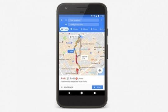 Rute ganjil-genap Asian Games tersedia di Google Maps