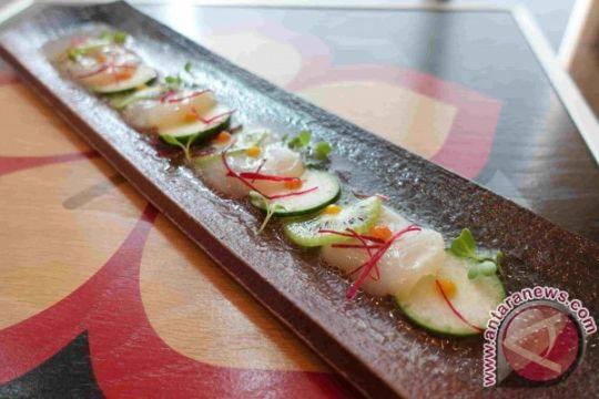 Menikmati hidangan Jepang dengan sentuhan Prancis dari ketinggian Jakarta