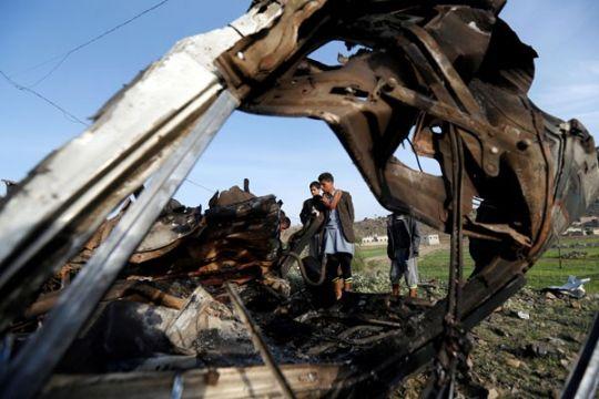 Arab Saudi cegat rudal yang ditembakkan dari Yaman ke arah Najran