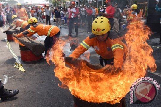 BPBD Bantul gelar lomba ketangkasan petugas pemadam kebakaran