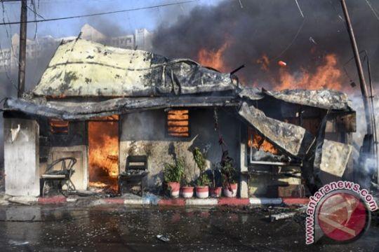 11 rumah di kawasan padat penduduk Palembang terbakar