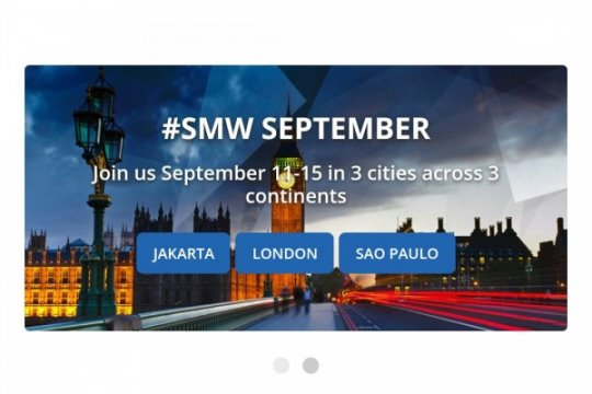 Social Media Week Jakarta kembali digelar
