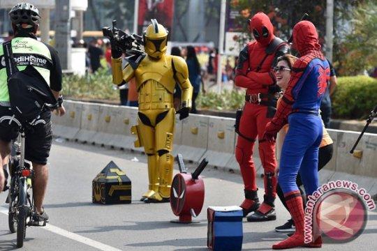 """Car Free Day"" di Mampang, Sudinhub rekayasa lalin"