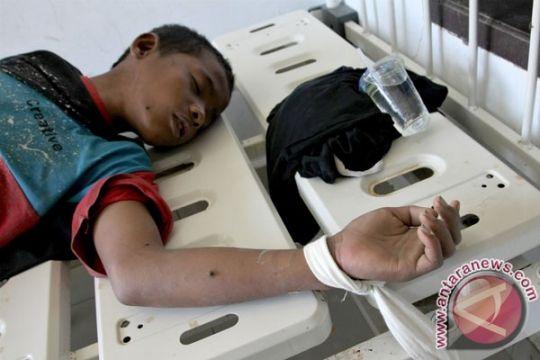 Seorang tahanan di Padang dirawat setelah lompat dari lantai tiga