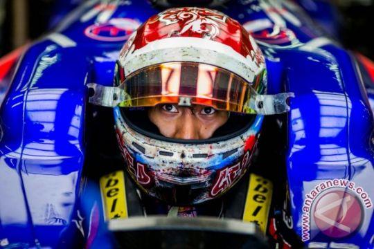 Sean Gelael debut manis di F1 Singapura