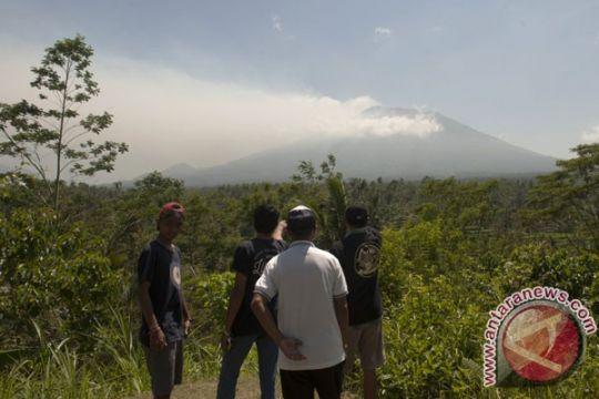 Kodim Buleleng dirikan posko antisipasi letusan Gunung Agung