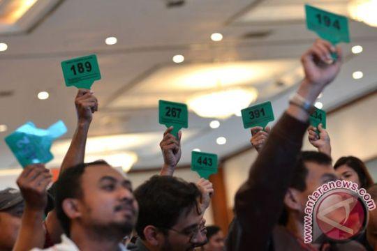 KPK lelang barang rampasan perkara korupsi 23 November