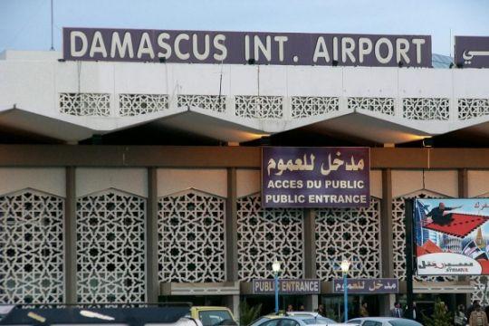 Dua rudal Israel mendarat di dekat bandara Damaskus
