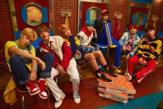 BTS pecahkan rekor Wonder Girls di Billboard Hot 100