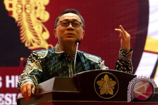 KPK tak boleh diintervensi dalam penetapan tersangka, kata Ketua MPR