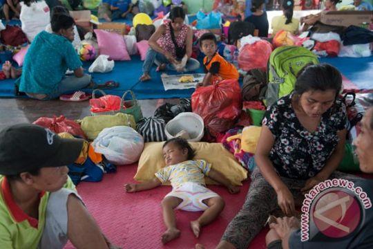 BPBD Klungkung berdayakan pengungsi Gunung Agung