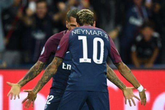 PSG hantam Rennes 4-1, Neymar dua gol