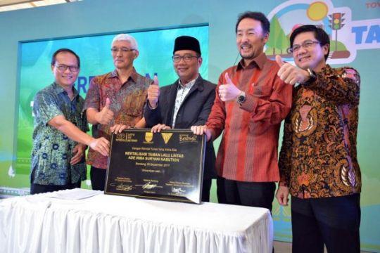 Revitalisasi Taman Lalu Lintas, kado Toyota untuk HUT Bandung