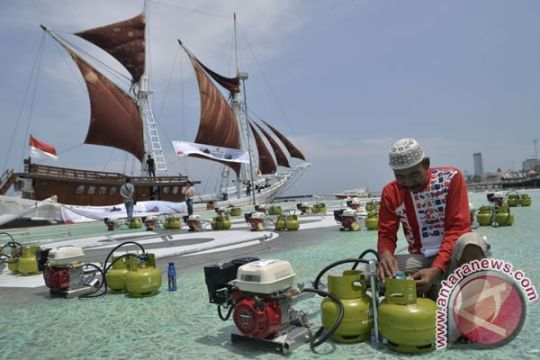 1.471 konverter kit disalurkan untuk nelayan di Kepri dan Sumut