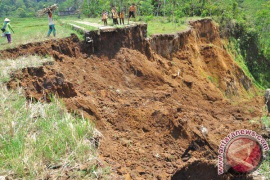 103 desa/kelurahan Temanggung rawan bencana longsor