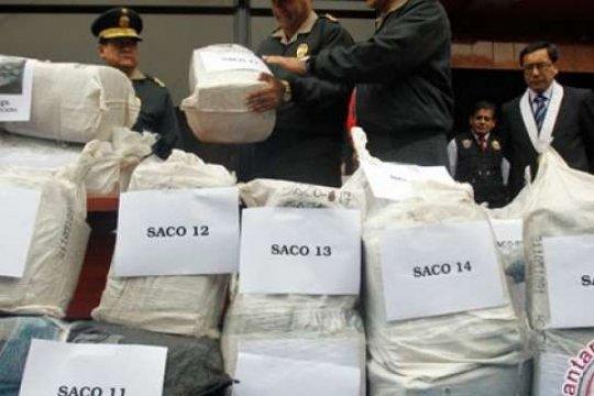 Operasi multinasional pimpinan Kolombia sita 94,2 ton kokain