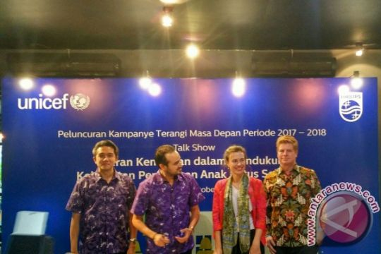Philips Lighting-UNICEF kampanyekan pendidikan anak Indonesia