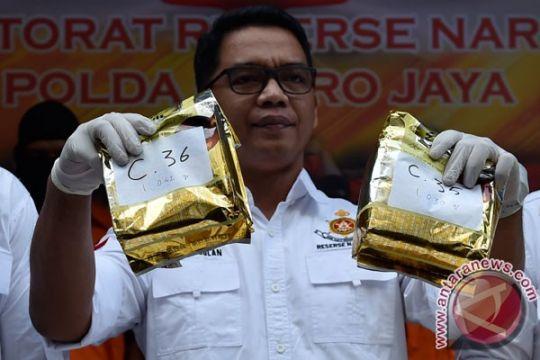 Polda Sumsel gagalkan transaksi narkoba 2,2 kilogram