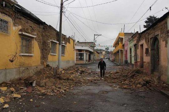 Gempa 8,2 SR picu 7.000 guncang susulan di Meksiko