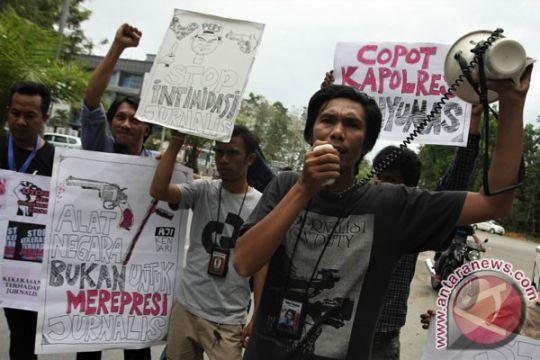 Polisi timika tetapkan delapan tersangka penganiaya wartawan