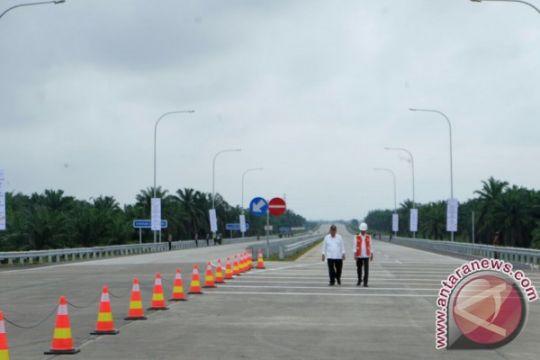Tol Medan-Tebing Tinggi ditarget rampung Oktober