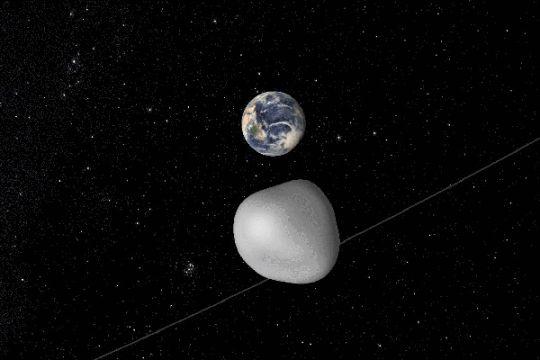 Asteroid Apollo akan melintas di dekat Bumi pada 8 Mei