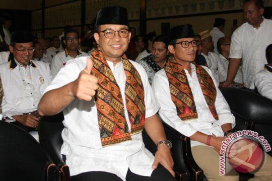 Jelang pelantikan, Anies-Sandi bertemu di Masjid Sunda Kelapa