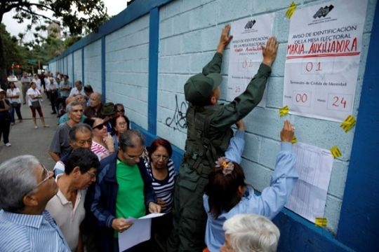 Partai-partai oposisi Venezuela terancam dilarang ikut pilpres