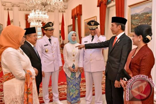 Wakil Presiden sempat tanya sepatu ke Sandiaga Uno