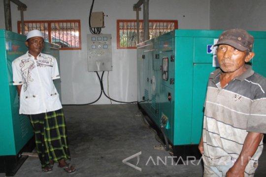 250 KK di Kepulauan Kangean-Jatim tersambungkan listrik