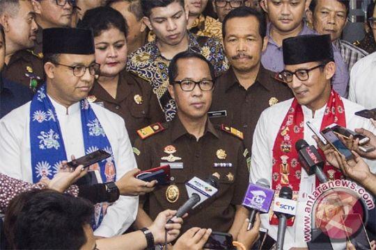 Anies-Sandi silaturahim ke Kajati DKI Jakarta