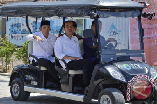"""Kemarin, Jokowi promosikan Mandalika lewat """"vlog"""" hingga cara cegah stroke"""