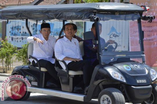Presiden Jokowi resmikan operasional Pariwisata Mandalika