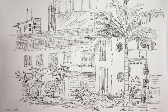 Ada kelas belajar menggambar sketsa di Galeri Nasional