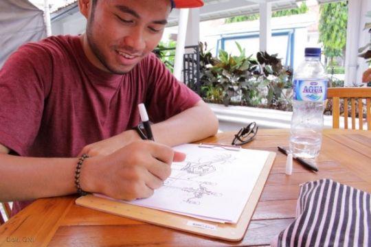 Dua kunci agar bisa menggambar sketsa
