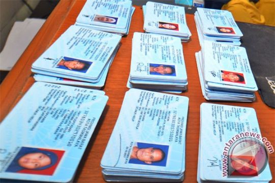 Polri: tidak ada pelanggaran hukum dalam KTP-e rusak yang tercecer