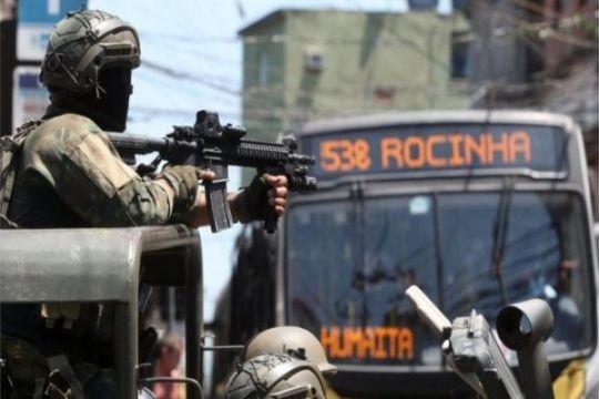 Polisi tembak turis Spanyol di Rio de Janeiro