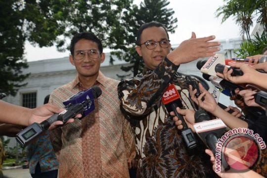 Anies-Sandiaga temui Jokowi