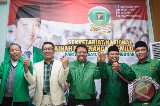PPP instruksikan penyebaran spanduk Ridwan Kamil-Uu