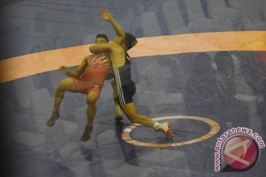 Atlet-atlet gulat digembleng di Bulgaria