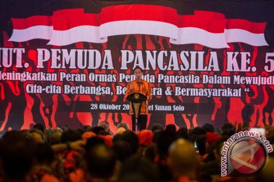 Presiden ajak Pemuda Pancasila bergotong-royong dengan pemerintah
