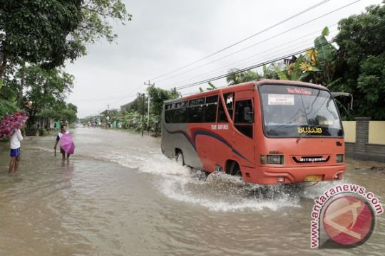 Ratusan rumah di Cilacap tergenang banjir