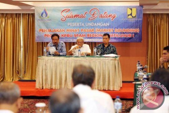 """Pelaksanaan SPAM regional Jatiluhur diawali """"Market Sounding"""""""