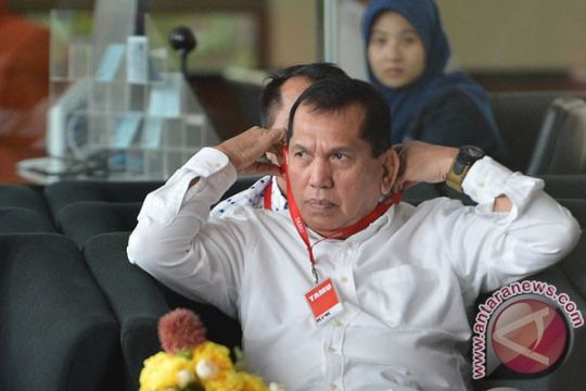 KPK kembali periksa mantan ketua Komisi II DPR Chairuman Harahap