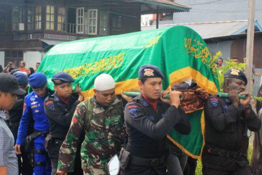 Jenazah Pratu Vicky korban baku tembak KKB sudah di Sorong